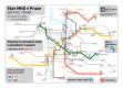 Pražské metro ve čtvrtek 6.5. 2013