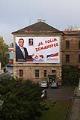 Věznice v Uherském Hradišti je billboardy SPOZ doslova oblepena.