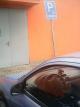 Kohout parkuje na poslaneckou průkazku a na místě pro invalidy v Poděbradech.