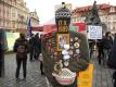 17. listopad na Národní třídě a v centru Prahy vůbec byl ve znamení protestu proti Zemanovi.