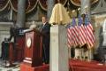 Odhalení busty Václava Havla v americkém Kongresu