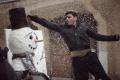 Natáčení videoklipu Sněhulák