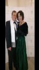 Petra Komárková na prezidentském plese: S manželem