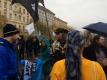 Pirátská demonstrace v sobotu 20. 2.: Velký pirátský maskot nemohl chybět