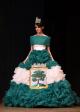 Gabriela Kratochvílová v reprezentačních šatech Jablonce nad Nisou