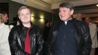 Artur s tátou, hudebníkem Ladislavem Štaidlem