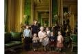 Královna Alžběta II. s pravnoučaty