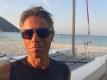 Janek Ledecký si užívá u moře