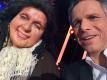 Janek Ledecký dělal porotce v show Tvoje tvář má známý hlas, na snímku s Ivanou Chýlkovou