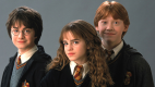 Daniel Radcliffe, Emma Watson a Rupert Grint, Harry a jeho přátelé, když v Bradavicích začínali