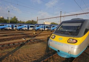 Moderní vlakové soupravy Českých drah