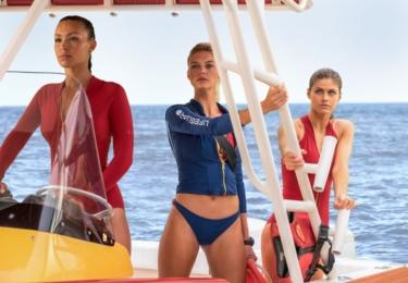Pobřežní hlídka 2017: Alexandra Daddario, Ilfenesh Hadera, Kelly Rohrbach.