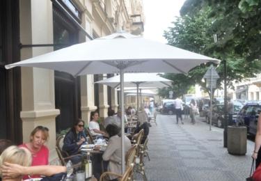 Akce Město není popelník odstartovala v Cafe Cafe v Rytířské ulici