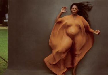 Serena Williams, Vanity Fair, fotografka Annie Leibovitz