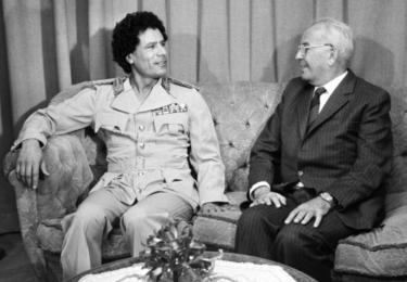 S Kaddáfím