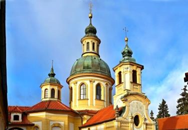 Kostel Panny Marie Vítězné na Bílé Hoře v Praze
