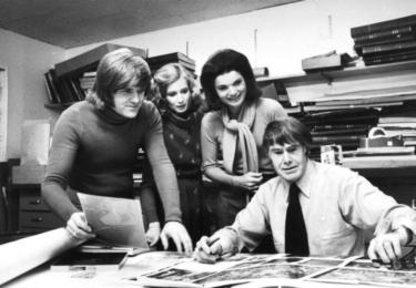 Jacqueline Kennedy v nakladatelství