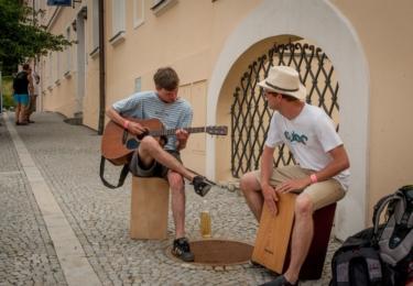 Už XXVI. ročník festivalu pro židovskou čtvrť se odehraje, jako každý rok, v červenci. Snímek je z loňska