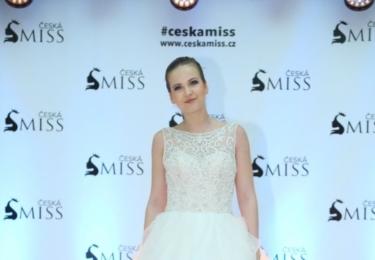 Finalistka České Miss 2017 Petra Kaprhálová