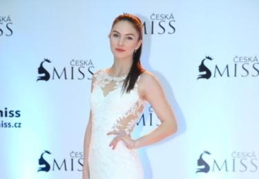 Finalistka České Miss 2017 Petra Mácová