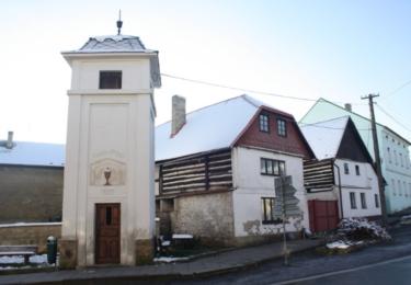 Historické stavby v Mšenu
