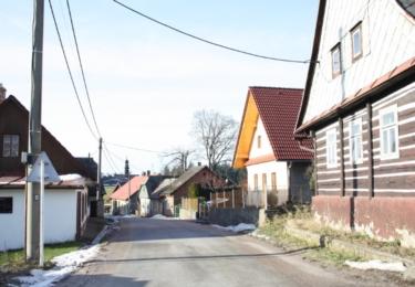 Liberk s původními domy
