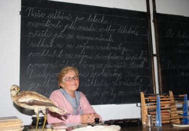 Paní starostka Jenšíková bylo moc milá a vstřícná