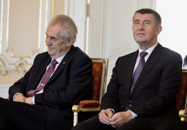 Miloš Zeman a Andrej Babiš