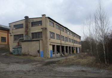 Tady stávala Hujerova továrna