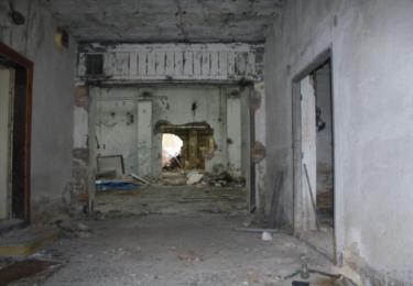 Vnitřek haly, kde se proháněl mistr Kroupa