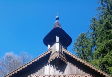 Dřevěná poutní kaple Panny Marie dnes