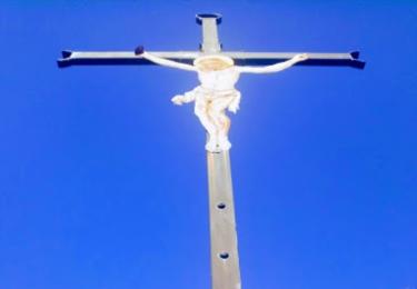 Kříž na stožecké skále