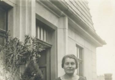 Anna Formanová. Zemřela v koncentráku.