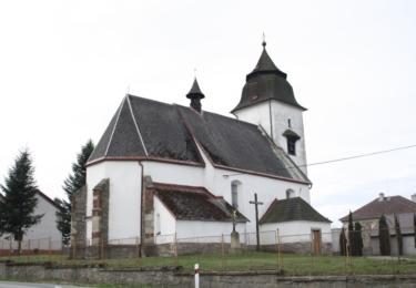 Kostel, kde působil farář Toufar