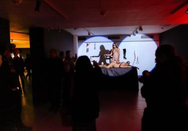 Tak zvaná výstava Voayer v Tančícím domě