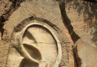 Poutník pod uchem