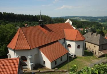 Kostel sv. Víta v Lipnici nad Sázavou
