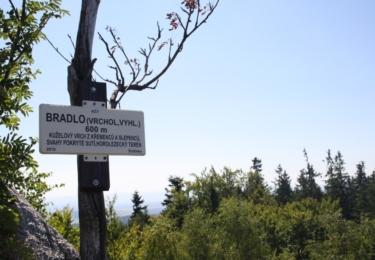 Bradlo - vrchol