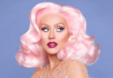Christine Aquilera jako pink girl