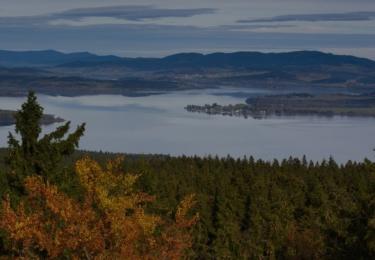 Pohled z věže Vítkova hrádku