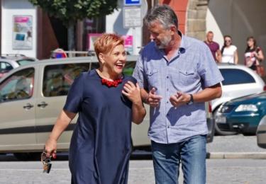 Dagmar Pecková a Petr Řezníček