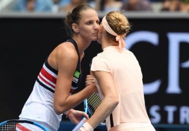Karolína Plíšková 2018: Fed Cup a velmi ´upřímný´ polibek