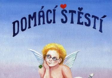 Iva Hüttnerová: Domácí štěstí je populární knížky, byl to i oblíbený pořad na ČT. Iva maluje nádherné naivistické obrázky