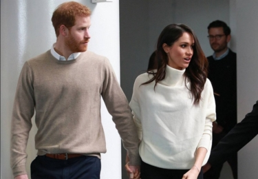 Harry a Meghan. Civil