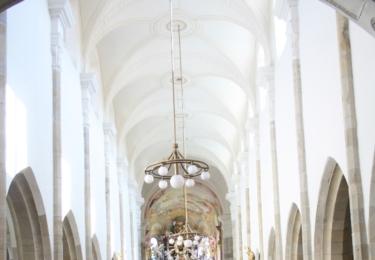 Kostel nanebevzetí Panny Marie z roku 1300