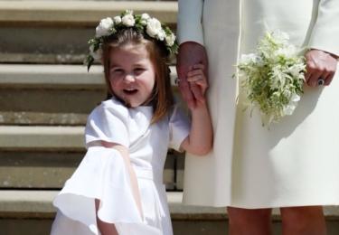 Malá princeznička Charlotte. Hérečka, co říkáte?