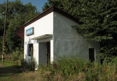 Černý Újezd a jedna z jeho tří stanic