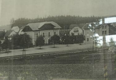 Střezimíř na staré fotografii