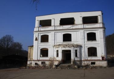 Bartošova továrna před likvidací