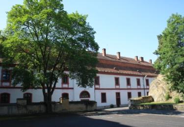 Bývalý klášter v Rabštejně